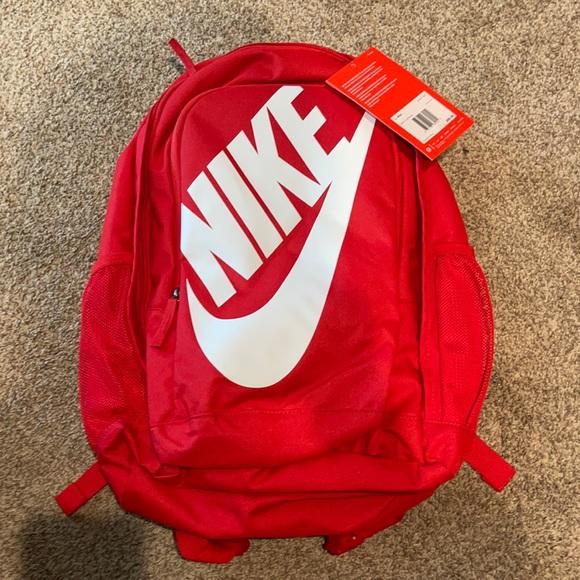 Brand new Nike backpack, red